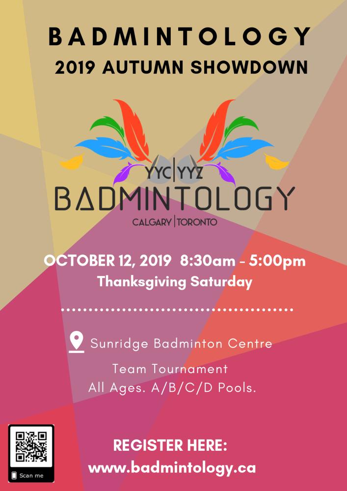 Badmintology Autumn Showdown 2019