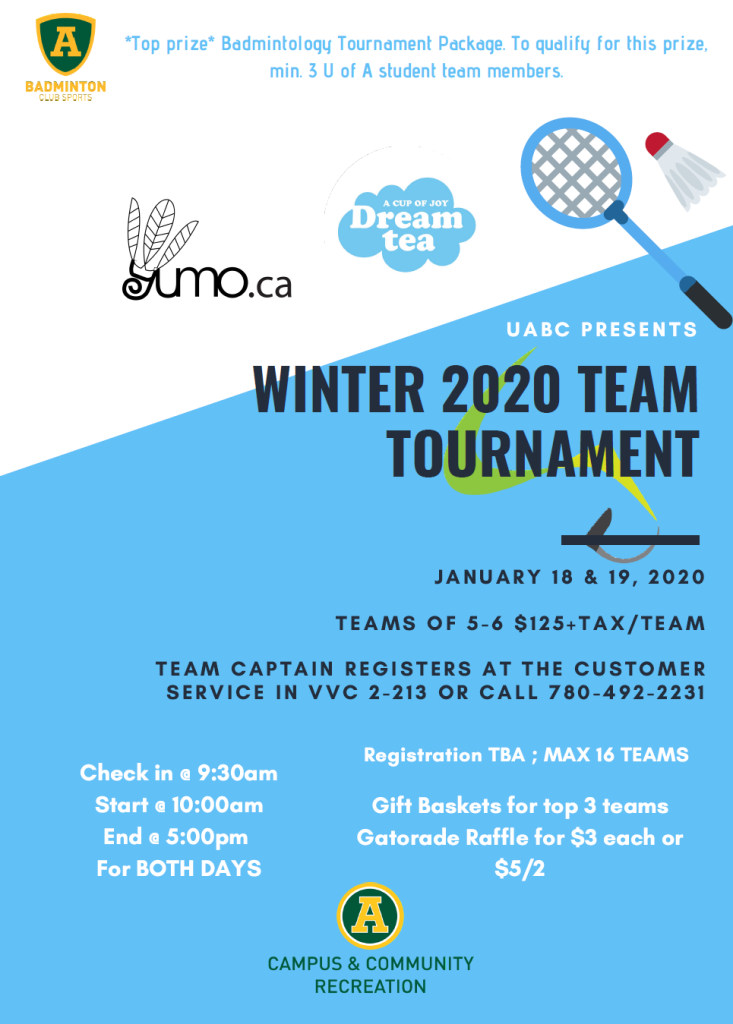 UofA Winter Open 2020